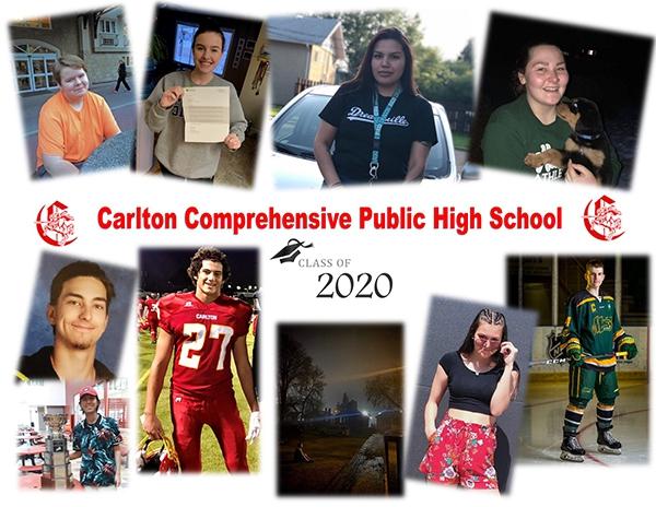 2020 Grads Of Carlton Comprehensive Public High School Saskatchewan Rivers Public School Division No 119